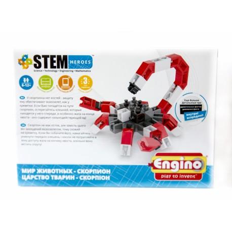 Конструктор ENGINO Скорпион  серия  STEM HEROES арт SH12