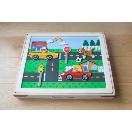 Магнитная игра с фоном собери картинку Melissa and Doug (США) 9918