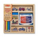 "Набор печатей ""транспорт"" Melissa and Doug (США) 2409"