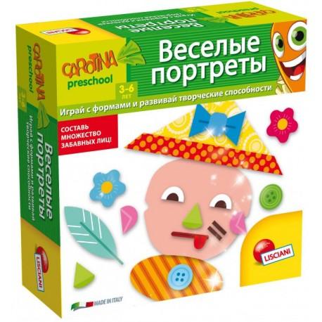 ВЕСЕЛЫЕ ПОРТРЕТЫ Lisciani (Россия)