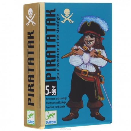 Детская карточная игра Пират Djeco (Франция)