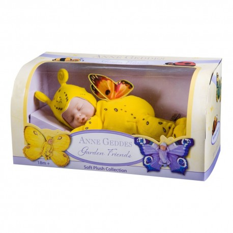 "12"" детки-бабочки желтые Anne Geddes (Unimax)"
