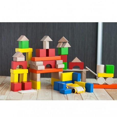 """Набор кубиков """"строим сами"""", 66 шт Краснокамск (Россия)"""