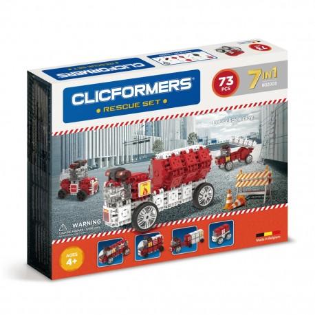 Конструктор CLICFORMERS Службы спасения Rescue set  (Бельгия)