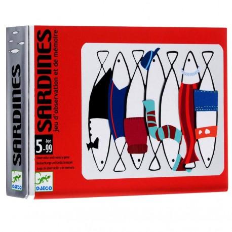 Карточная игра Сардины Djeco 05161