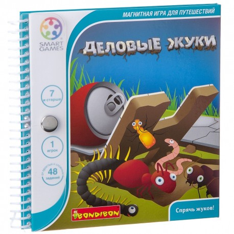 Логическая игра Деловые жуки Bondibon (Smart games)