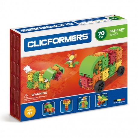 Конструктор CLICFORMERS Basic Set 70 деталей