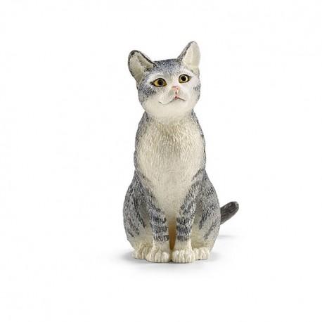 Кошка сидит Schleich (Германия) 13771