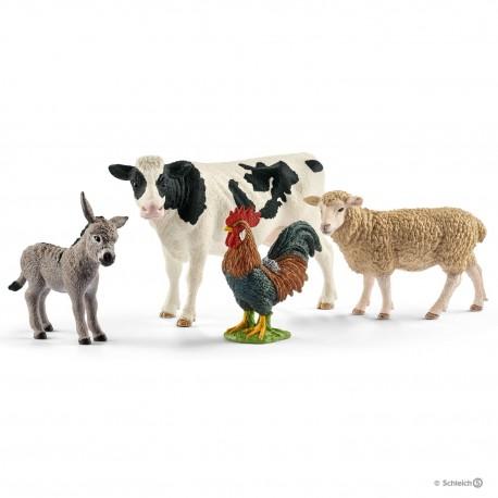 Набор Животные фермы Schleich (Германия) 42385