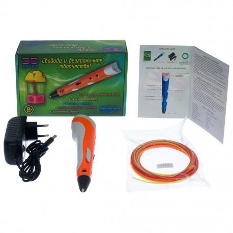 3D-ручка оранжевая HONYA SC-3
