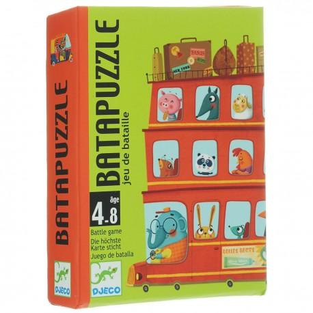 Карточная игра Бата пазл Djeco (Франция) 05125