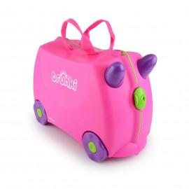 Чемодан на колесиках розовый Trunki (Англия)