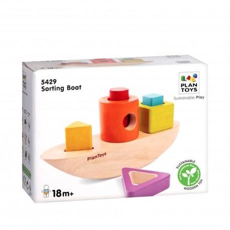 Сортировка Лодка Plan Toys (Тайланд)