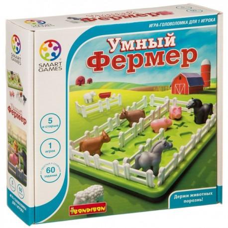 Логическая игра Умный фермер Bondibon (Smart games)