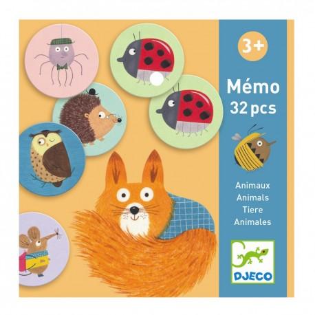 Мемо Животные NEW Djeco (Франция) 08116