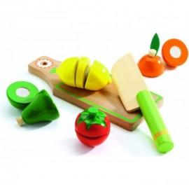 Набор для разрезания Фрукты и овощи Djeco (Франция)