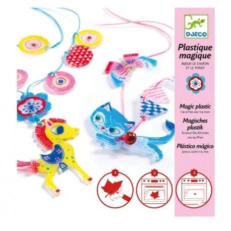Набор для творчества Котёнок и пони Djeco (Франция) 09495