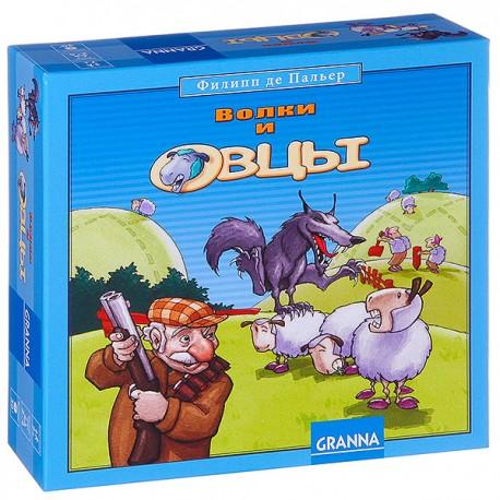 Настольная игра  Волки  и овцы Bondibon (Granna)