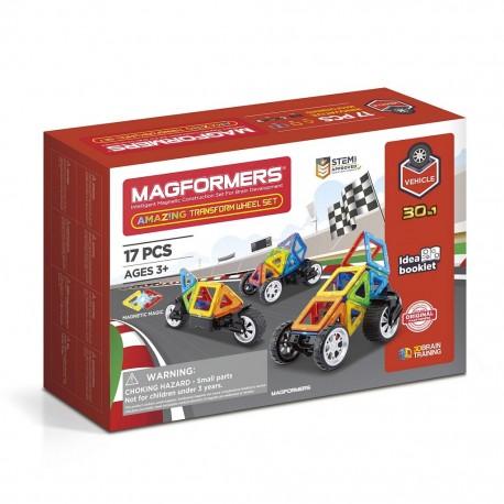 Магнитный конструктор MAGFORMERS Amazing Transform Wheel Set