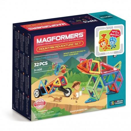 Магнитный конструктор MAGFORMERS Adventure Mountain 32 set