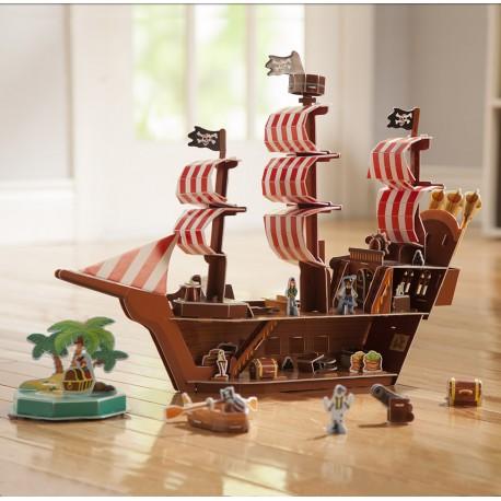 3D Пазл Пиратский корабль Melissa Doug (США) 9045