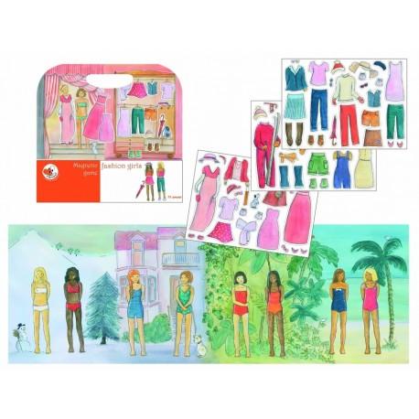 """Магнитная игра """"Мода для девочек"""" Egmont (Бельгия) 630667"""