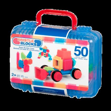 """Игольчатый конструктор """"Bristlle Blocks"""", Battat 50 дет. в чемоданчике."""