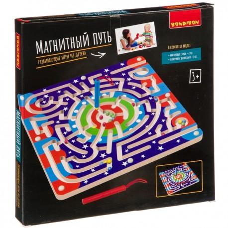 Игра-головоломка Магнитный путь Bondibon
