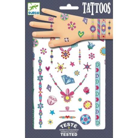 Татуировки Украшения Дженни