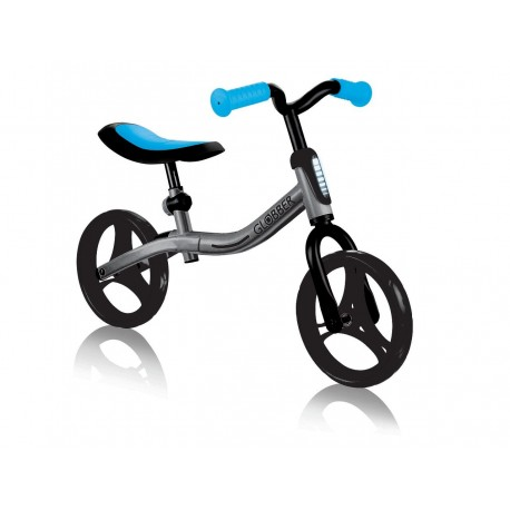 Беговел Globber Go Bike серо-синий