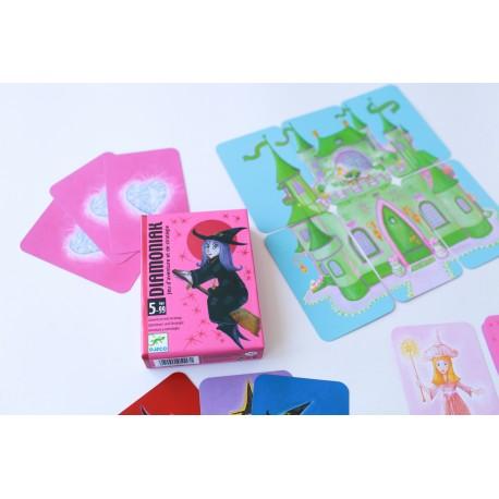 Карточная игра Построй замок Djeco (Франция) 05117