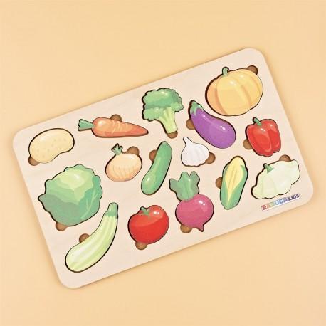 Рамка-вкладыш Овощи Raduga Kids (Россия)