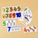Рамка вкладыш Цифры с карточками Raduga Kids (Россия)