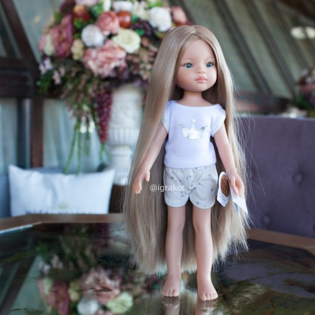 Кукла Маника, 32 см в пижаме Paola Reina (Испания)