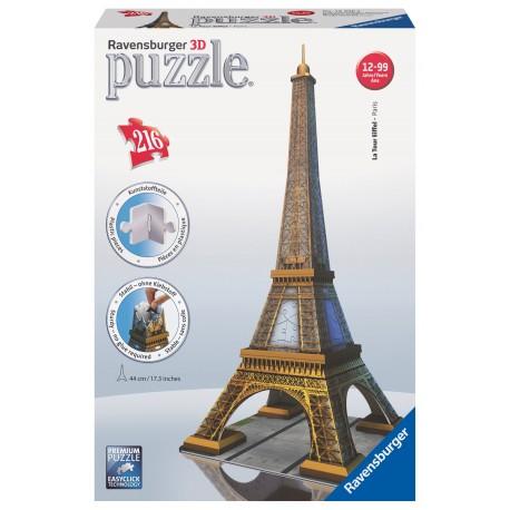 "3D Пазл ""Эйфелева башня"", 216 эл. Ravensburger (Германия)"