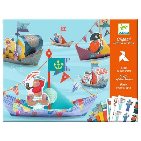 Набор для творчества  Кораблики Djeco 08779