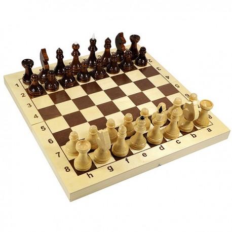 """Игра настольная """"Шахматы"""" деревянные (поле 29см х 29см)"""