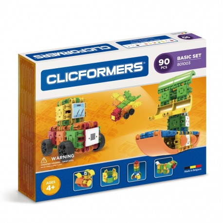 Конструктор CLICFORMERS Basic Set 90 деталей