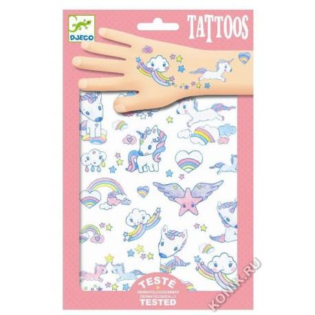 Татуировки Единорог Djeco 09575