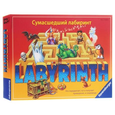 Настольная игра  «Сумасшедший лабиринт»  Ravensburger 26582