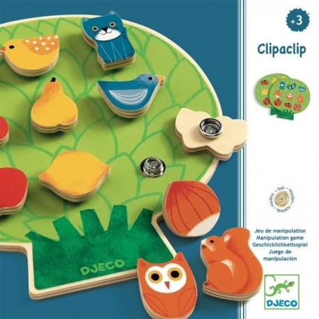 Развивающая игра Клипаклип Djeco (Франция) 01662