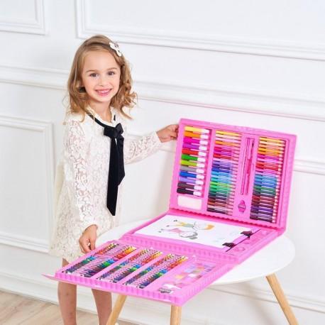 """Набор Юного художника"""" для рисования 208 предметов с мольбертом"""
