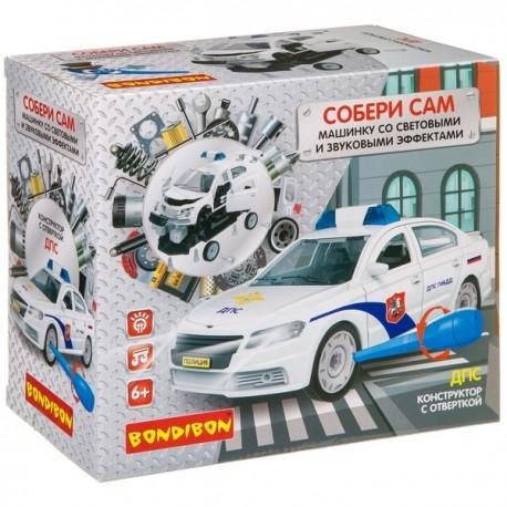 Конструктор с отверткой Собирай и Играй «ДПС», 37 дет.  Bondibon