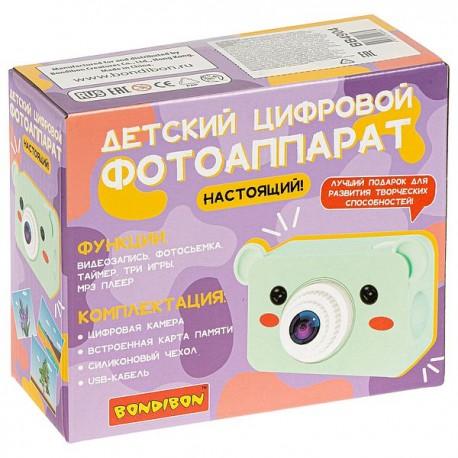 Детский цифровой фотоаппарат «МИШКА» Bondibon