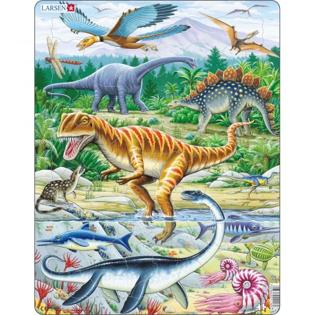 Пазл Динозавры Larsen (Норвегия) FH16