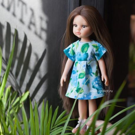 Одежда для куклы Paola Reina 32 см Цветочное платье