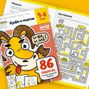 Тетрадь Реши-пиши Буквы и чтение 5-6 лет