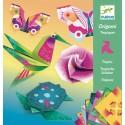 Набор для оригами тропики с неоновым эффектом  Djeco (Франция) 08755