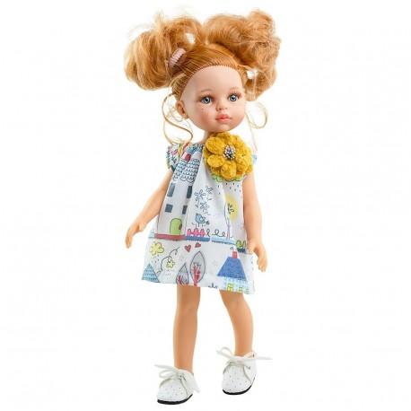 Кукла Даша, 32 см  Paola reina (Испания) 04460