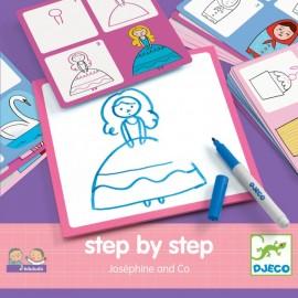 Набор для рисования Жозефина и Ко, Djeco (Франция)  08320